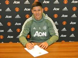 Rojo renovou com o United. ManUtd