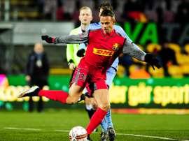 Marcus Ingvartsen ha anotado siete goles en 13 partidos esta temporada. FCNordsjaelland