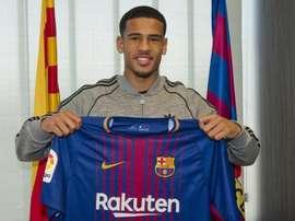 McGuane est entré dans l'histoire en faisant ses débuts avec le Barça. FCBarcelona
