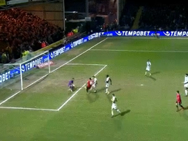 Rashford took advantage of a defensive error to give United the lead. beINSports