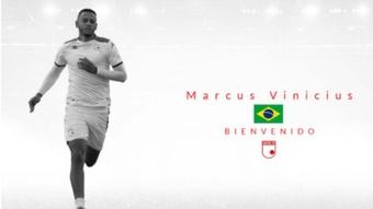 Marcus Vinicius Felicio, nuevo jugador de Independiente Santa Fe. Captura/IndependienteSantaFe