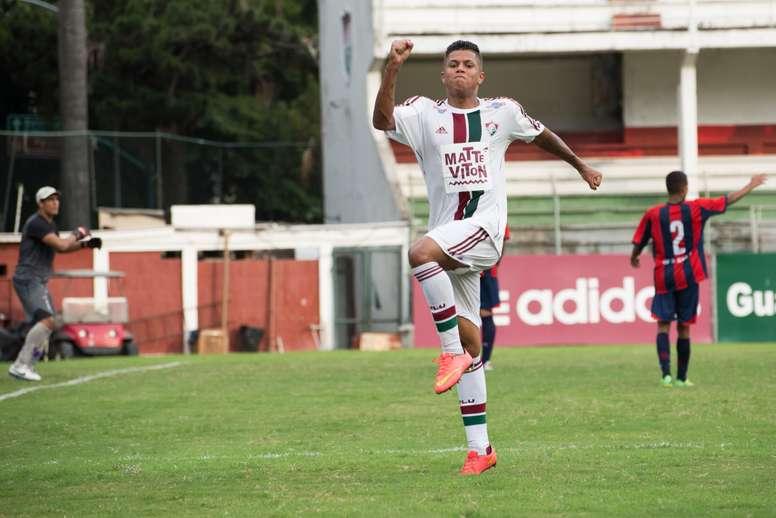 Wendel podría ser cedido a un equipo portugués. Fluminense