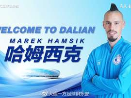 Hamsik, a China. DalianYFC