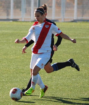 Marianela Szymanowski cambia el Rayo Vallecano Femenino por el Valencia Femenino. FutFem