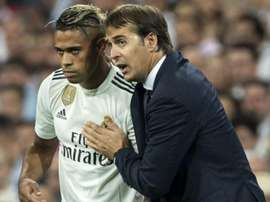Mariano looks set to be one of the Real Madrid players sold in January. EFE