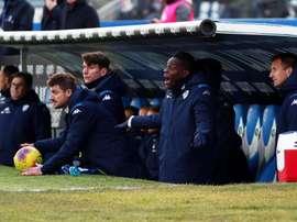 Balotell foi expulso logo após entrar em campo contra o Cagliari por insultar o árbitro. EFE