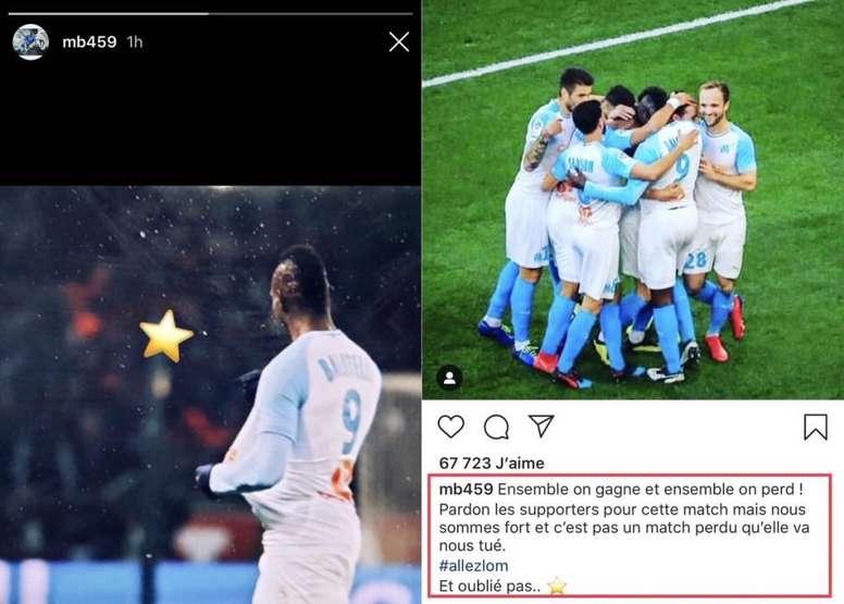 Balotelli se burló de la afición del PSG. Instagram/mb459