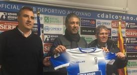 Mario Barrera regresa al Alcoyano. CAAlcoyanoSAD