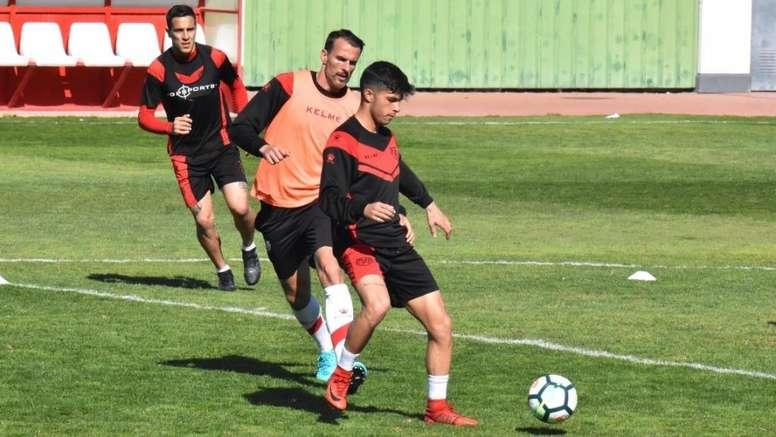 Mario Hernández jugará cedido en el Sanse. RayoVallecano
