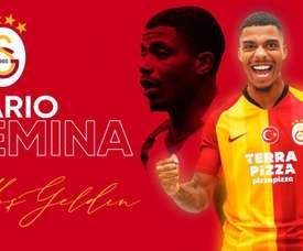 Mario Lenina é o novo reforço do Galatasaray. Galatasaray