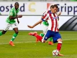 Mario Mandzukic marca su primer tanto con la Juventus. ClubAtléticodeMadrid