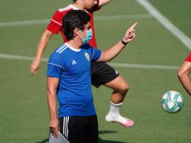 A Mario Silva le preocupa más su Almería que el rival. Twitter/U_D_Almeria