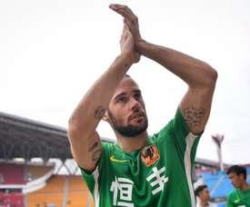 Mario Suárez volvió a brillar en China. EFE