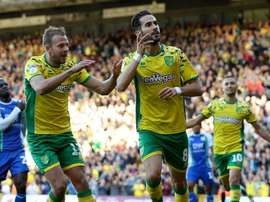 Mario Vrancic was full of praise for the Norwich fans. Twitter/NorwichCityFC