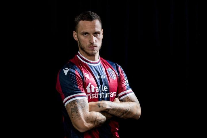 Arnautovic, nuevo jugador del Bologna. BfcOfficialPage