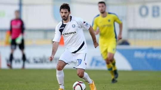 Marko Pajac cambia Eslovenia por Italia, un gran salto en su carrera. EFE/EPA