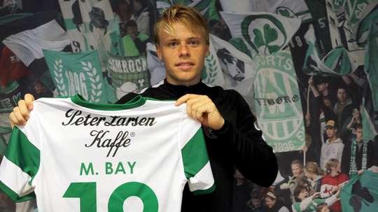 El centrocampista ya luce nuevo dorsal con el conjunto danés. ViborgFF