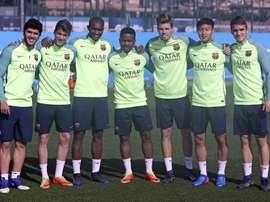 Álex Carbonell (1d) se va al Reus. FCBarcelona