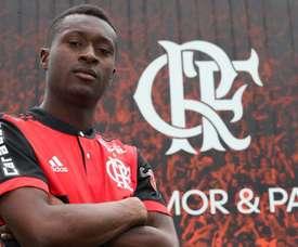 Moreno rejoint le Flamengo. Twitter/Flamengo