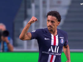 Marquinhos put PSG ahead very summer. Captura/Movistar+