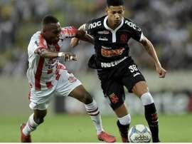Marrony, do Vasco da Gama, é alvo do Atlético Mineiro. Reprodução Twitter @liberatomarrony