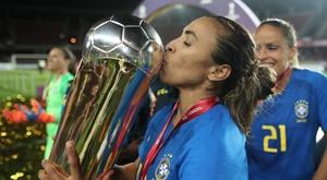 Marta entre as melhores do mundo Brasil. Twitter @LoboMauro73
