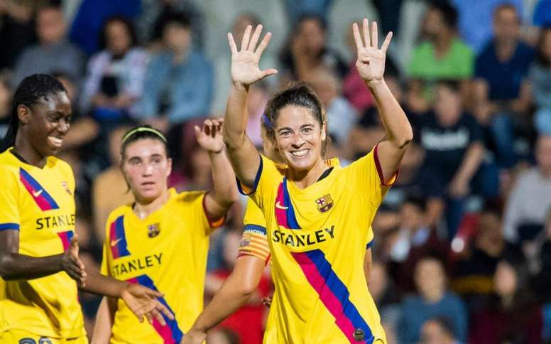 O se firma un convenio o podría haber huelga en el fútbol femenino. Twitter/FCBFemeni