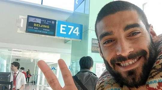 Esta será su segunda aventura en China tras pasar por el Qingdao Huanghai. MartíCrespí