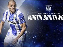 C'est officiel, Braithwaite est un joueur de Leganés. CDLeganes