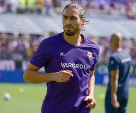 Cáceres, um dos casos positivos da Fiorentina. ACFFiorentina