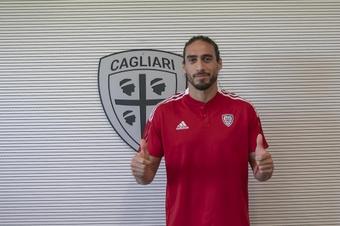 Martín Cáceres seguirá en Italia. CagliariCalcio