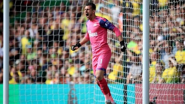 Newcastle veut prolonger le contrat de son gardien. NUFC