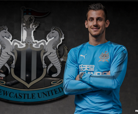Dubravka signed in January. Newcastle