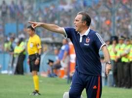 Martín Lasarte dirigirá un nuevo torneo a 'U' de Chile. Agencia ANDES (Flickr)