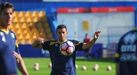 Martín Luque cree que a su equipo le hace falta una victoria lejos de casa. ADAlcorcón