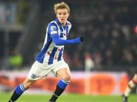 Odegaard is currently loaned to Heerenveen. EFE/Archivo