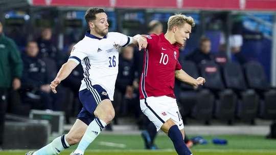 Odegaard got injured against Norway. EFE