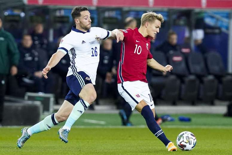Guardiola voulait Odegaard. EFE