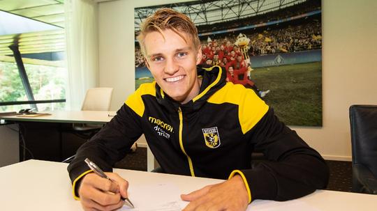 Martin Odegaard joins Vitesse Arnhem on loan from Real Madrid. Vitesse