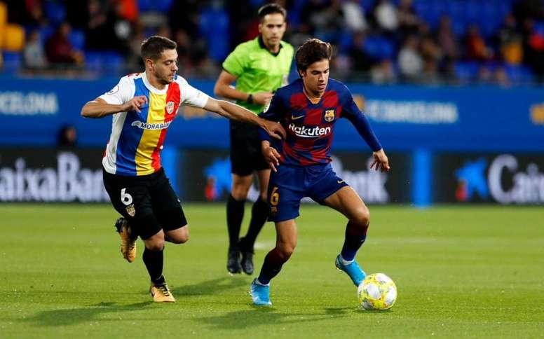 Il centrocampista spagnolo, canterano del Barcellona, Riqui Puig. Twitter/FCBarcelonaB