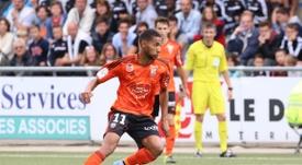 Marvin Gakpa vient d'être prêté pour une saison à Quevilly Rouen. FCLorient