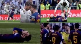 Undiano, tras el choque Ramos-Messi: 'Se ha tirado'. Movistar/EFE
