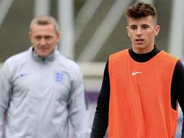 Mount was called up to England's senior squad for their latest internationals. dcfcofficial
