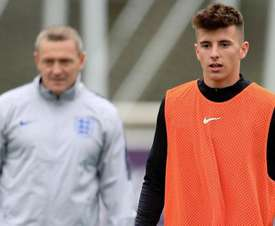 Mason Mount earned his first England call-up this week. dcofficial