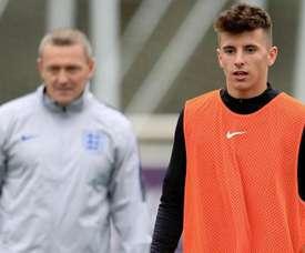 Mason Mount, convocado con la Selección Inglesa. DCFOfficial