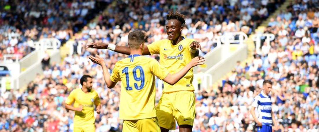 El Chelsea se impuso al Reading. Twitter/ChelseaF