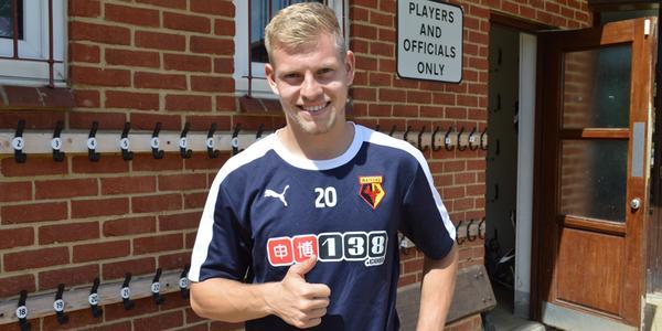 Matej Vydra firma por cinco temporadas. WatfordFC