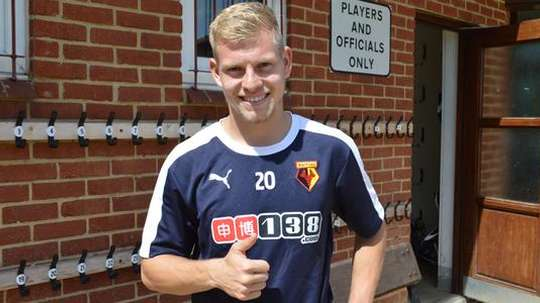 Former Watford striker Vydra could move to Burnley. WatfordFC
