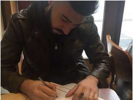 El argentino firmó por una temporada. GuillermoBrown