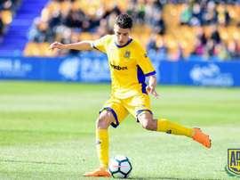 Mateo García quiere los tres puntos. ADAlcorcón